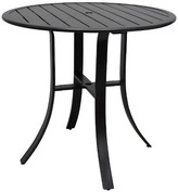 "Threshold Camden Metal 40"" Round Balcony Height Table"