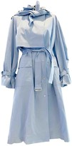Eudon Choi Blue Cotton Trench coats