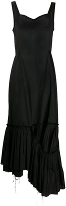 Marni Asymmetric Peplum Hem Dress