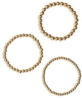 BaubleBar Pisa Beaded Stretch Bracelets, Set of 3