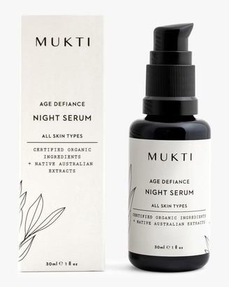 Mukti Age Defiance Night Serum 30ml
