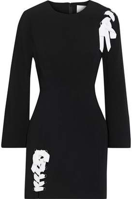 Cinq à Sept Izella Lace-up Cady Mini Dress