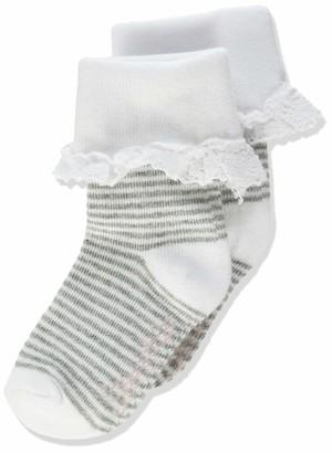 Sterntaler Girl's Baby-sockchen Ringel/rusche Socks
