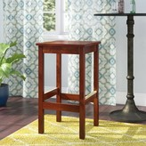 "Regal Beechwood Square Backless Wood Seat Bar & Counter Stool Seat Height: Bar Stool (31"" Seat Height)"