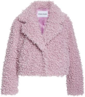 Stand Studio Janet Faux Fur Jacket