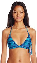 Roxy Women's Native Geo Fixed Tri Bikini Top