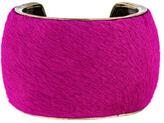 Isabel Marant Ponyhair Cuff Bracelet
