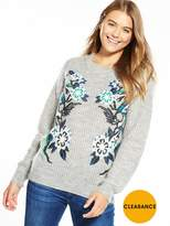 Replay Appliqué Jumper - Grey
