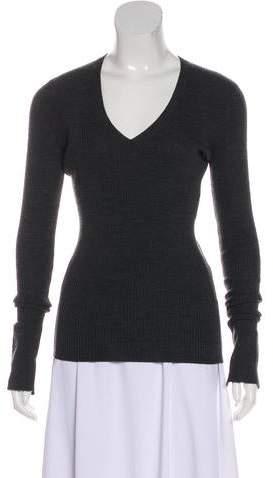 Barbara Bui V-Neck Wool Sweater