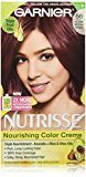 Garnier Nutrisse Nourishing Color Creme, 56 Medium Reddish Brown (Sangria) (Packaging May Vary)