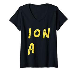 Dragon Optical Womens (ION A) F U S I O N Ha Technique Combine Be Awesome V-Neck T-Shirt