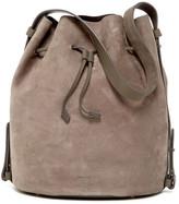 Skagen Mette Leather Bucket Bag