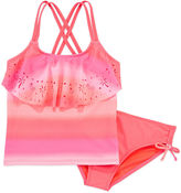 ANGEL BEACH Angel Beach Girls Ombre Tankini Set - Big Kid
