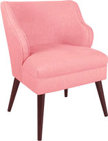 Skyline Furniture Kira Chair, Light Pink Linen