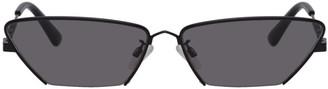 McQ Black Cat-Eye Sunglasses