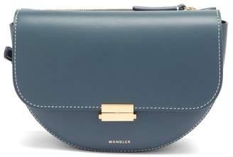 Wandler Anna Leather Belt Bag - Womens - Blue