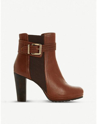 Dune Scout leather ankle boots