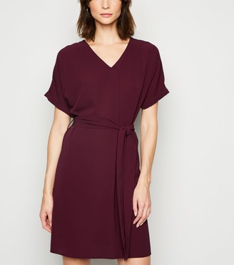 New Look Tall Belted Tunic Dress