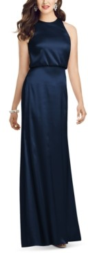 Dessy Collection Blouson Gown