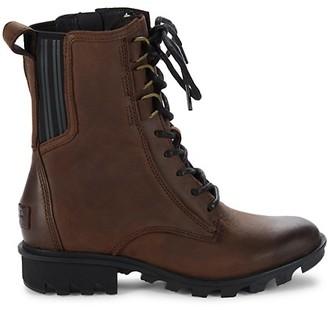 Sorel Phoenix Leather Combat Boots