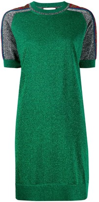 Gucci metallic T-shirt dress