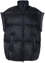 Maison Margiela oversized padded jacket - women - Cotton/Feather Down/Viscose/Polyimide - 44