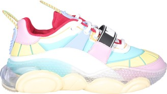 Moschino Logo Band Lace-Up Sneakers