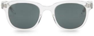 Barton Perreira Thurston Crystal 49mm Square Sunglasses