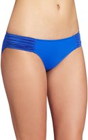 Seafolly Women's Goddess Pleated Hipster Bikini Bottom