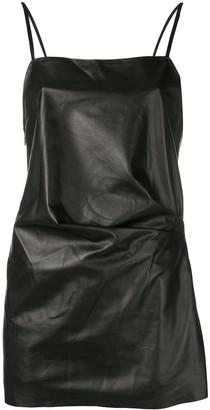 Manokhi square neck mini dress