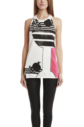 3.1 Phillip Lim Embellished Muscle Tank