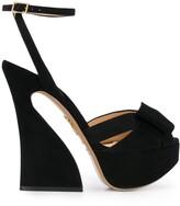 Charlotte Olympia chunky-heel platform sandals