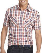 Izod Short-Sleeve Performance Poplin Shirt