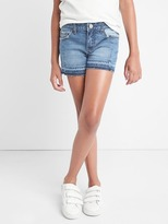 Gap Stretch panel shorty shorts