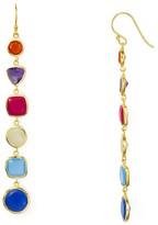 Argentovivo Stone Linear Earrings