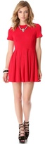 Mace Pleated Dress
