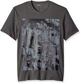 Calvin Klein Jeans Men's Camo Ck Logo Crew Neck T-Shirt