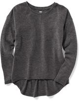 Old Navy Relaxed Seamed Hi-Lo Drop-Shoulder Tee