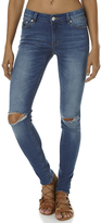 RES Denim Trashqueen Skinny Womens Jean Blue