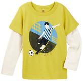 Tea Collection Campeon De Futbol Double Decker Tee (Toddler, Little Boys, & Big Boys)