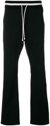 MAISON KITSUNÉ side stripe track pants