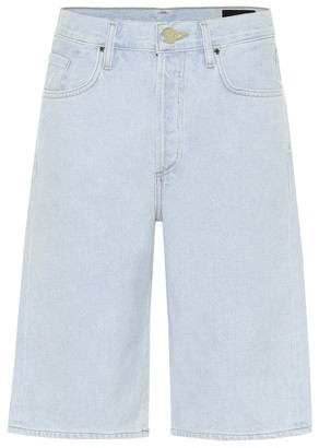 Gold Sign The Marcell denim Bermuda shorts