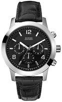 GUESS GUESS? Men's U10618G1 Calf Skin Quartz Watch with Dial