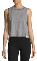 Vimmia Pacific Pintuck Muscle Tank Top, Gray