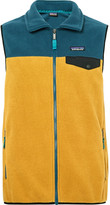 Patagonia Synchilla Snap-T Lightweight Two-Tone Fleece Gilet