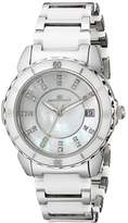 Oceanaut Women's OC2411 Charm Analog Display Swiss Quartz Two Tone Watch