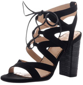 Madeline Brunette Tie Up Sandal