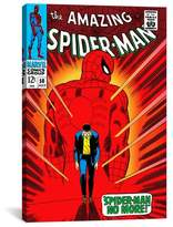 iCanvas Marvel Comics Book Spider-Man Issue Cover #50 Graphic Art on Wrapped Canvas