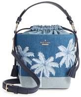 Kate Spade California Dreaming - Pippa Denim Bucket Bag