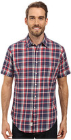 U.S. Polo Assn. Short Sleeve Classic Fit Plaid Poplin Sport Shirt